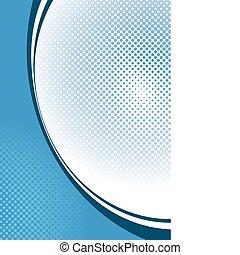 blue háttér, halftone