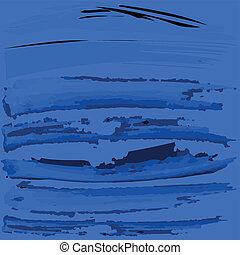 blue háttér, noha, fekete, ecset, festék