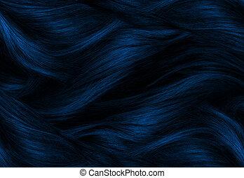 blue Hair Texture