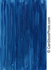 blue hand painted abstract watercolor background