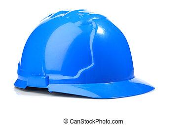 blue hardhat