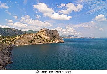blue hegy, ég, tenger