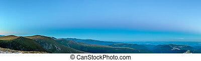 blue hegy, óra, panoráma