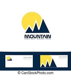 blue hegy, nap, sárga, jel