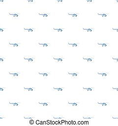 Blue helicopter pattern