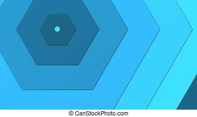 Blue Hexagon able to loop