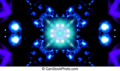 Blue high tech VJ loop - Animated blue high tech VJ loop