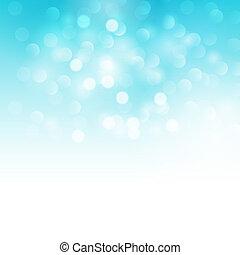 Blue holiday  light background