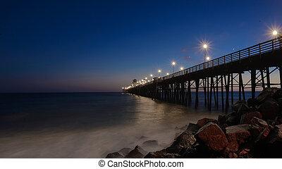Blue Hour Oceanside