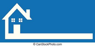 Real Estate, Builder, Finance, Mortgage, etc. House Logo Template