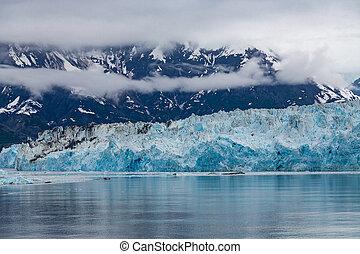 Blue Ice of Glacier Hubbard