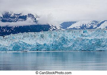 Blue Ice of Hubbad Glacier