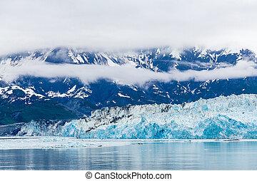 Blue Ice of Hubbard Glacier