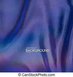 Blue indigo silk fabric.
