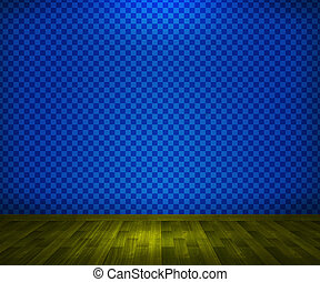 Blue Interior Background