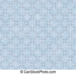 Blue Interlaced Squares Textured Fabric Background