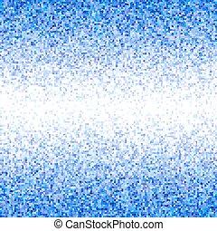 Blue irregular rectangle mosaic border background