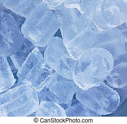 blue jég, köb, háttér