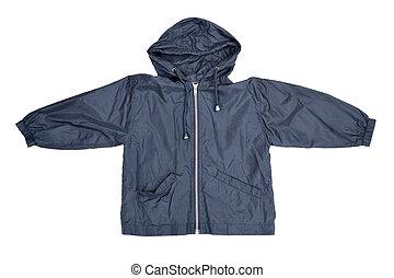 Blue jacket - Children's wear - blue jacket isolated over ...