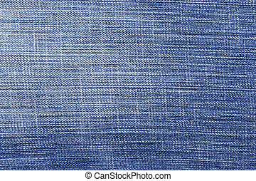 Blue jean background  and texture, Partial pale of jeans.