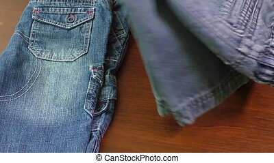 Blue jeans and skirts for sale - Used blue jeans and skirts...