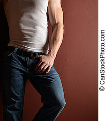 blue-jeans, homme