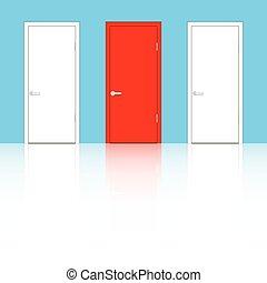 blue közfal, ajtók