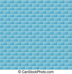 blue közfal, csempeborítás