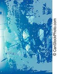 blue közfal, elvont, háttér
