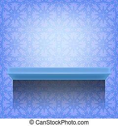 blue közfal, polc