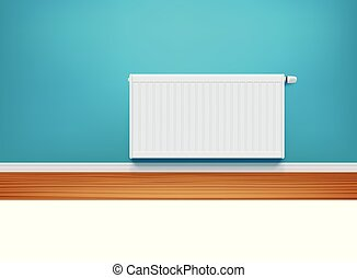 blue közfal, radiátor