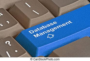 Blue Key for database management