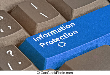 Blue Key for information protection