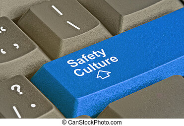 Blue key for safety culture