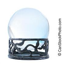 blue kristály, labda, képben látható, áll