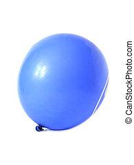 blue léggömb