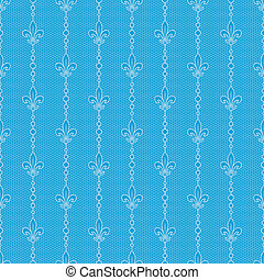 blue lace background with bluebel