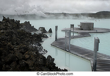 Blue Lagoon - The Blue Lagoon, a geothermal bath resort in...