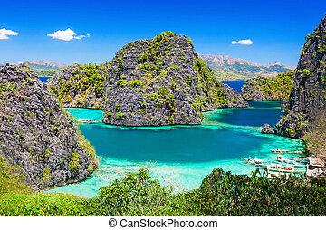 Blue Lagoon - Very beautyful lagoon in the islands, ...