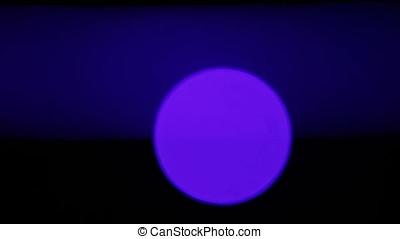 Blue Laser Beam Disk Pan