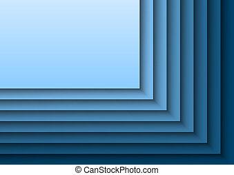 Blue Layeres