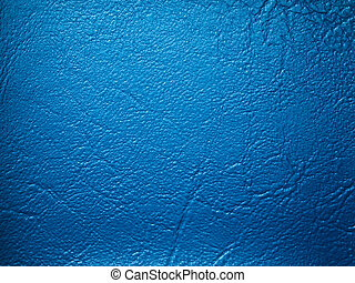Blue Leatherette sample