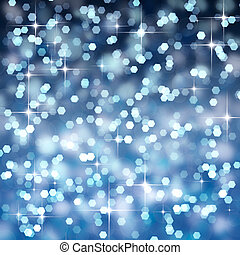 background bokeh with stars