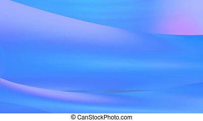 Blue light curvy background - Abstract blue light curvy...