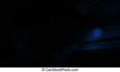 blue light flashes abstract loop background