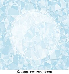 Blue Light Polygonal Mosaic Background, Vector illustration,  Business Design Templates