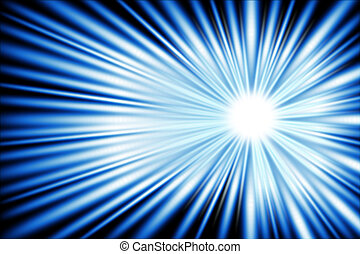 Blue light ray of your power.