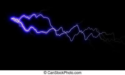 Blue Lightning Animation