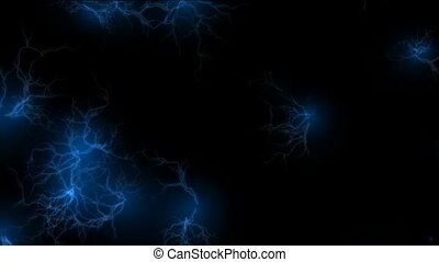 blue lightning,magnetic field
