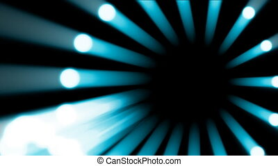 Blue lights flowing background